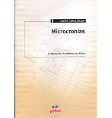Microcronías 5 Piezas para Sax Alto y Pi