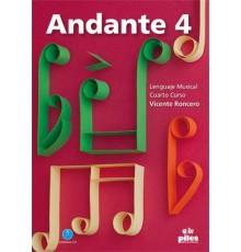 Andante. 4. Cuarto Curso   CD Nueva Ed.