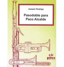 Pasodoble para Paco Alcalde/ Full Score