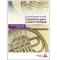 Concierto para 4 Trompas/ Score & Parts