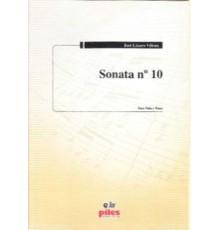Sonata Nº 10 (Viola y Piano)