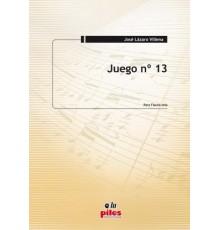 Juego Nº 13. Flauta