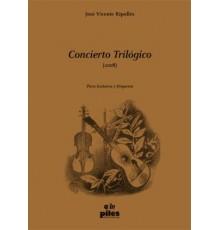 Concierto Trilógico/ Full Score A-4