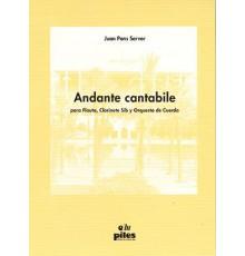 Andante Cantabile para Flauta Clarinete