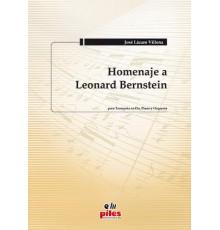 Homenaje a  Leonard BernsteiN/Full Score