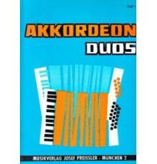 Akkordeon Duos Heft 1