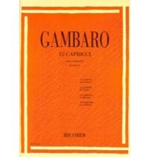 12 Capricci per Clarinetto