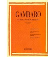 22 Studi Progressivi per Clarinetto