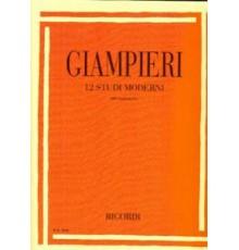 12 Studi Moderni per Clarinetto