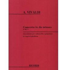 Concerto in Do minore RV401 F.III. 1/ Re