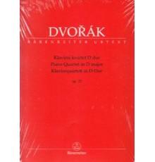 Piano Quartet in D-Dur Op. 23