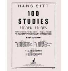 Sitt. 100 Studies Op. 32 Vol. II. 2ª, 3ª