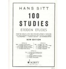 Sitt. 100 Studies Op. 32 Vol. III. Chang