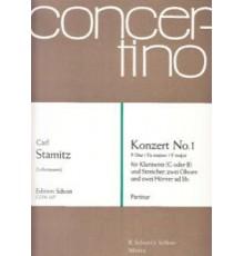 Konzert Nº 1 F-Dur/ Full Score