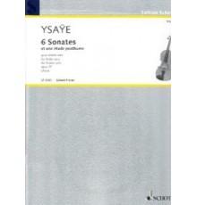 6 Sonates Op. 27
