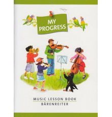 My Progress Music Lesson Book