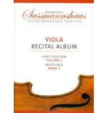 Viola Recital Album First Position Vol.1