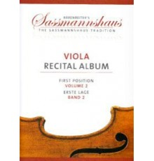 Viola Recital Album First Position Vol.2