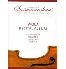 Viola Recital Album First Position Vol.3