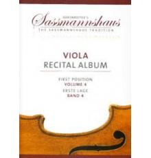 Viola Recital Album First Position Vol.4