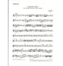 Concerto C-Dur RV 537/ Violin II