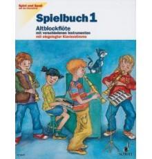Spiel und Spas Altblockflote Spielbuch 1