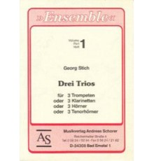 Drei Trios Vol. 1