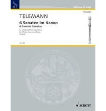 Six Sonatas in Canon Op. 5