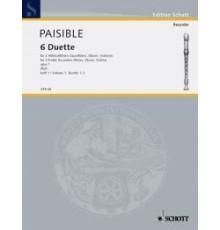 6 Duette Heft 1 Op. 1 Duette 1-3