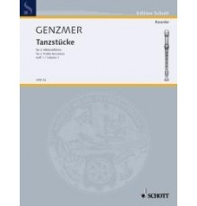 Tansztücke Heft 1. Dance Pieces