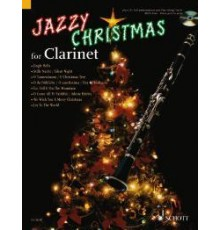 Jazzy Christmas for Clarinet   CD