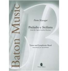 """Preludio e Siciliana from the Opera """"Cav"""