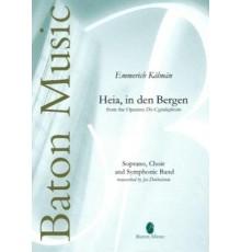 Heia, in den Bergen from the Operetta Di