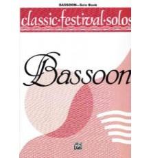 Classic Festival Solos Basson Vol. 1.
