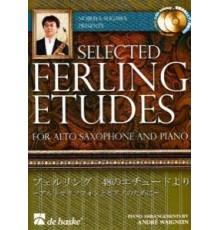 Selected Ferling Etudes   2CD Alto Sax