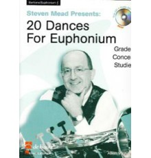 20 Dances for Euphonium TC   CD
