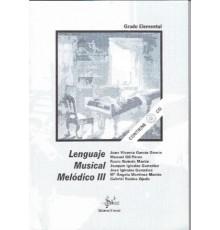 Lenguaje Musical Melódico 3   CD