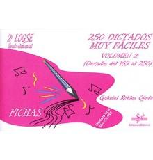 250 Dictados muy Fáciles Vol.2-G.Elemen