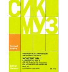 Konzert Nº 1 Op. 107/ Red. Pno.