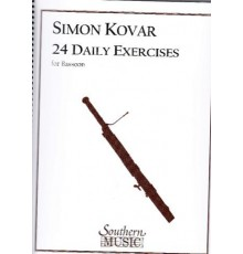 24 Daily Exercises for Bassoon