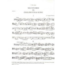 Six Studies in English Folksong/ Cello