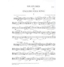 Six Studies in English Folksong/ Basson