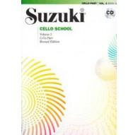 Suzuki Cello School Vol. 2   CD