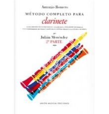 Método Completo Clarinete. 2º