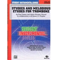 Studies and Melodious Trombone. Level Tw