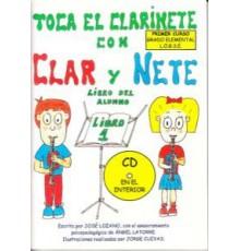 Toca el Clarinete con Clar y Nete. Alumn