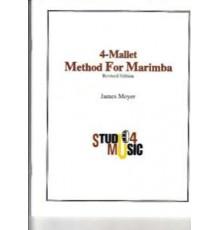 Four Mallet Method for Marimba