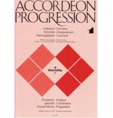 Accordeon Progression Vol. 1