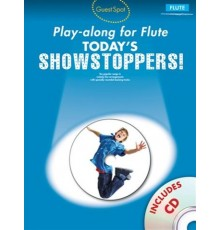 Showstoppers Play-Along Flute   CD