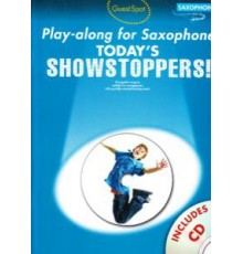 Showstoppers Play-Along Saxophone   CD
